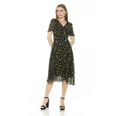 Alexia Admor Kourtney Midi Dress