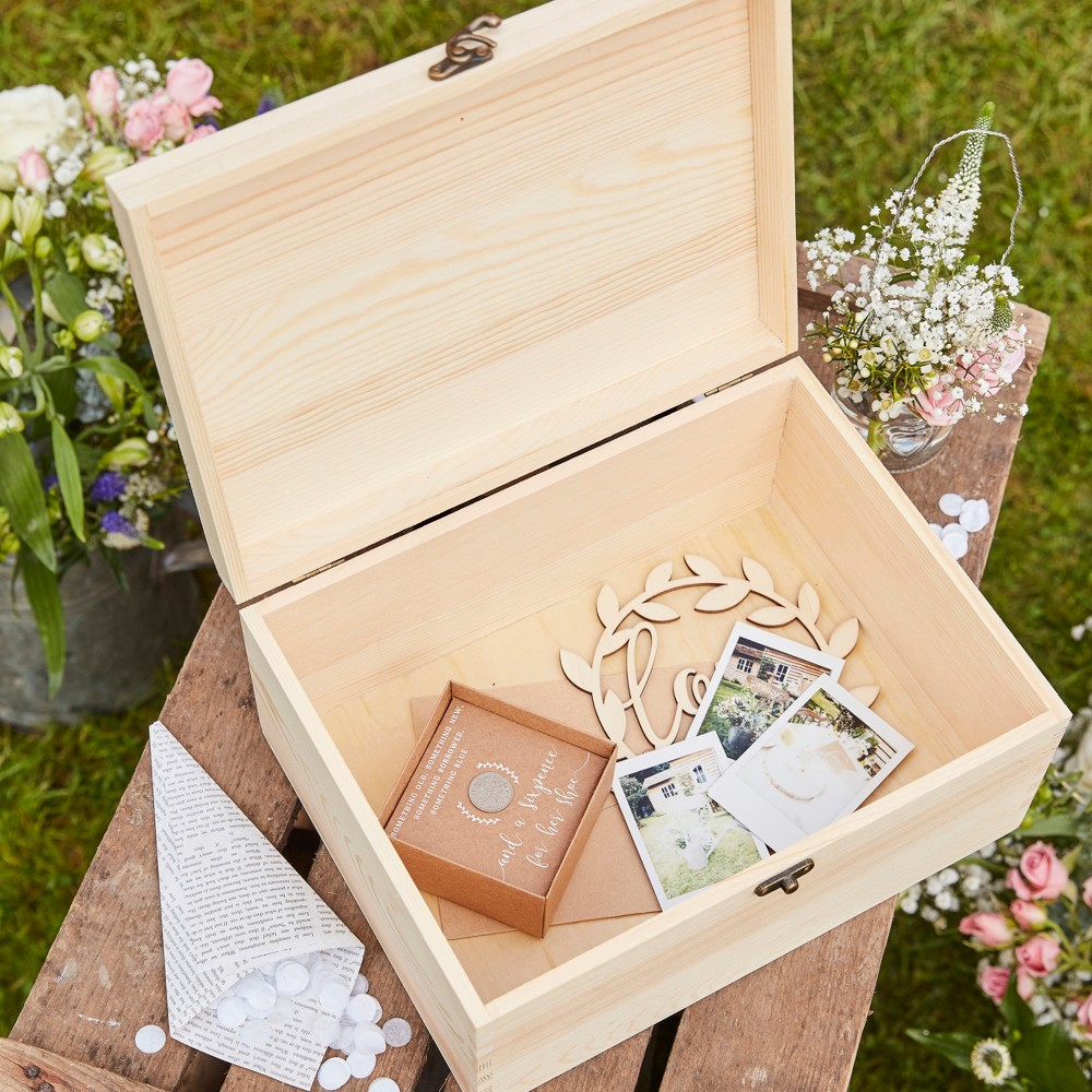 Image of Ginger Ray Memory Box Brown