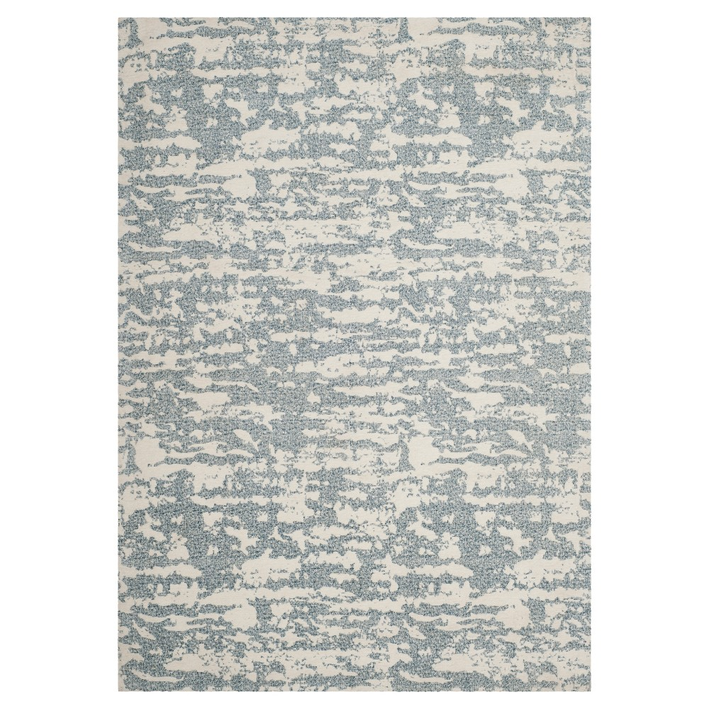 Best Price BlueIvory Spacedye Design Woven Area Rug 4X6 Safavieh