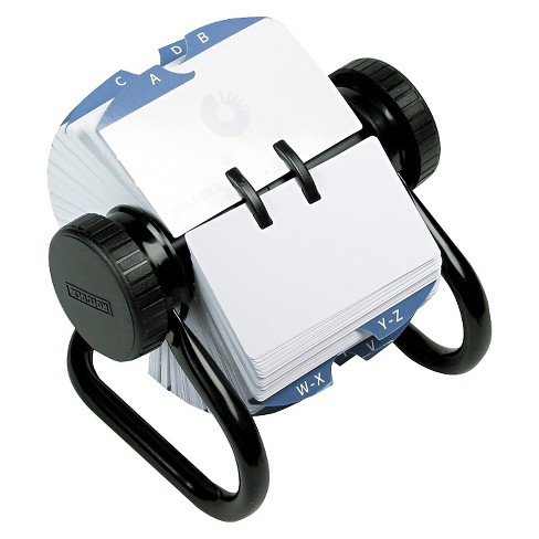 Rolodex™ Open Rotary Card File Holds 500 2-1/4 x 4 Cards, Black - image 1 of 1