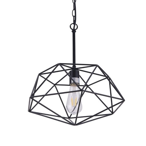 Bomith Geometric Pendant Lamp Black (Lamp Only) - Aiden Lane - image 1 of 4