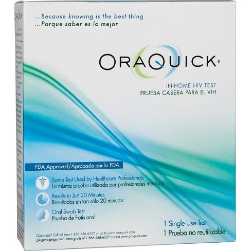 OraQuick In-Home HIV Test Kit - image 1 of 4