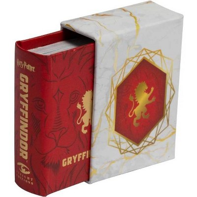 Harry Potter: Gryffindor (Tiny Book) - by  Insight Editions (Hardcover)