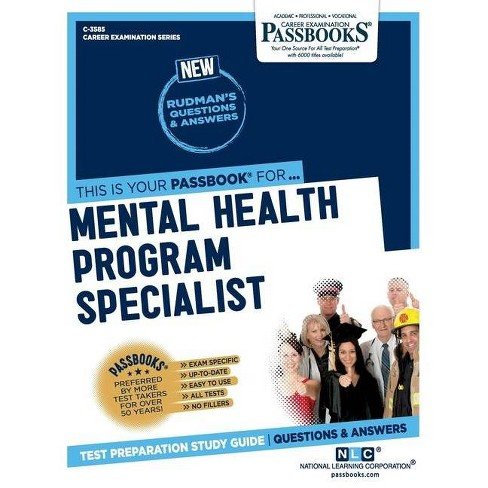 Mental Health Program Specialist - by  National Learning Corporation (Paperback) - image 1 of 1