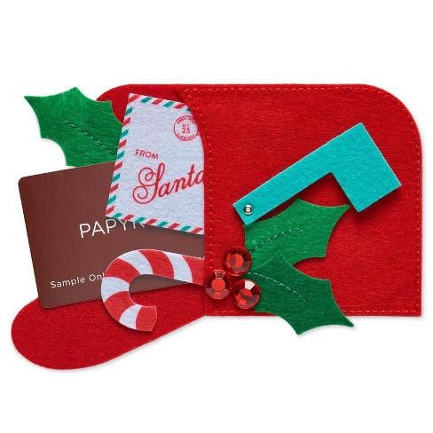 Papyrus Felt Mailbox Gift Card Holder - image 1 of 3
