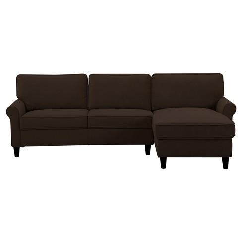 Strange Madison Sofa Chocolate Lifestyle Solutions Uwap Interior Chair Design Uwaporg