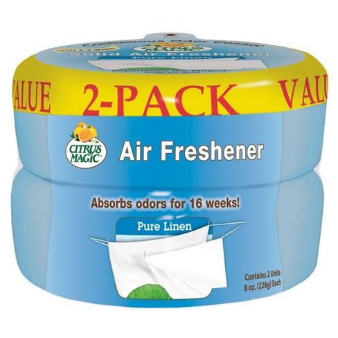 Citrus Magic Pure Linen Solid Air Freshener - 2ct - image 1 of 1