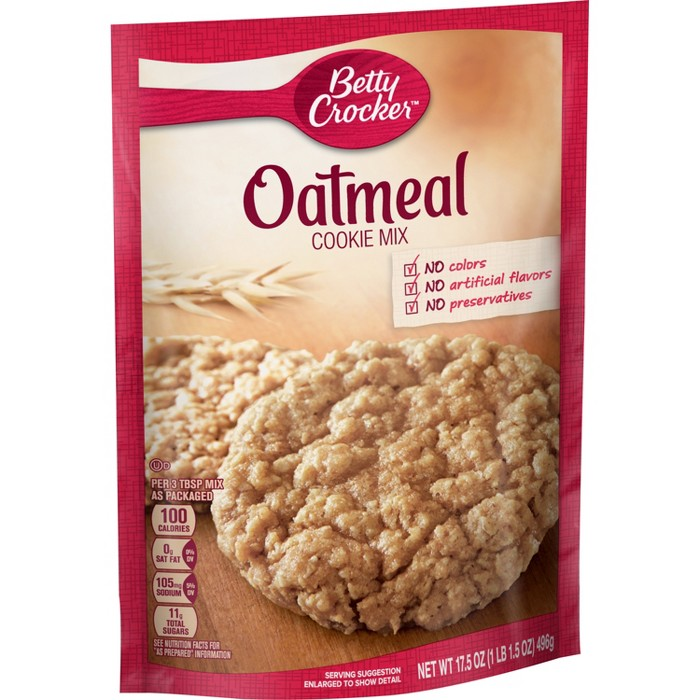 Betty Crocker Oatmeal Cookie Mix - 17.5oz - image 1 of 5