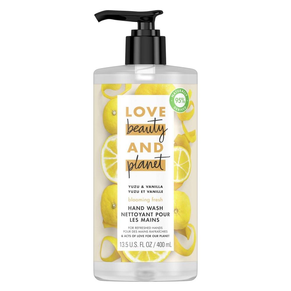 Image of Love Beauty & Planet Yuzu & Vanilla Blooming Fresh Liquid Hand Wash Soap - 13.5 fl oz