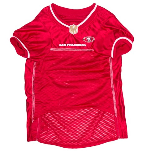 premium selection 1e2d9 83420 San Francisco 49ers Pets First Mesh Pet Football Jersey - Red S