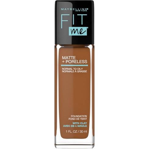 Maybelline Fit Me Matte + Poreless Oil Free Foundation - 1 fl oz - image 1 of 4