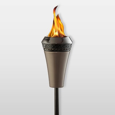 Island King Large Flame Torch Brown - TIKI