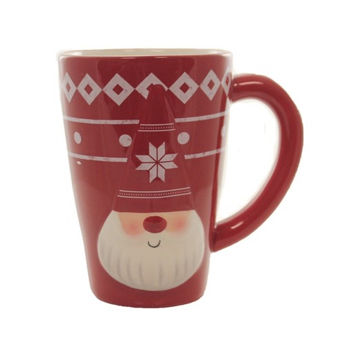 "Tabletop 5.0"" Gnome Mug Earthenware Holiday Ganz  -  Drinkware - image 1 of 3"