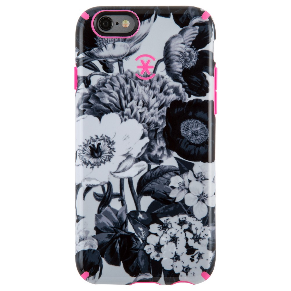 Speck iPhone 6s Plus/6 Plus CandyShell Inked Vintage Bouquet Gray