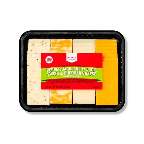 Cheese Slices - 16oz - Market Pantry™ - image 1 of 1