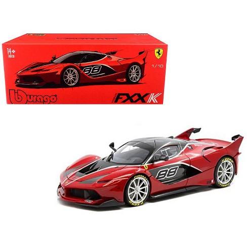 """Ferrari FXX-K #88 Red """"Signature Series"""" 1/18 Diecast Model Car by Bburago - image 1 of 4"""
