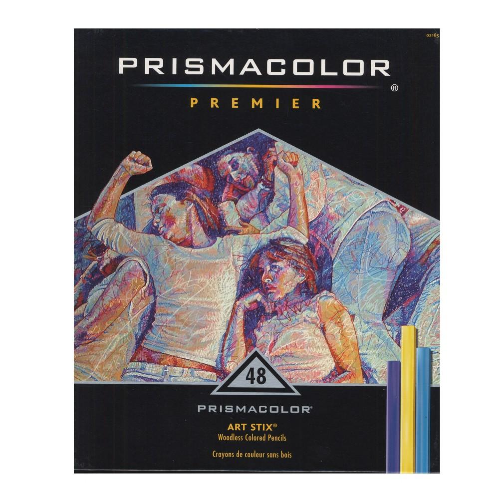 Art Stix Pastel Set - Prismacolor 48ct, Multicolored
