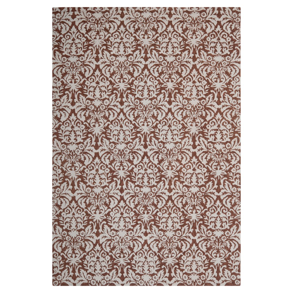 Darrance Accent Rug - Brown / Gray (3'9