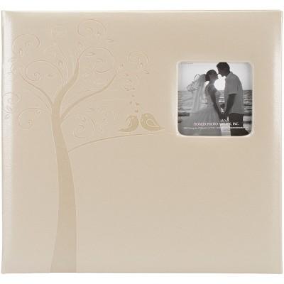 "Pioneer Embossed Wedding Post Bound Album 12""X12""-Tree"