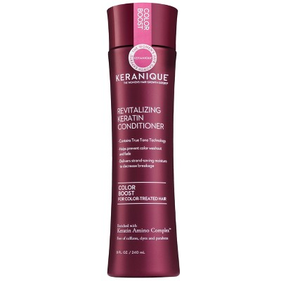 Keranique Color Boost Revitalizing Keratin Conditioner for Color-Treated Hair - 8 fl oz