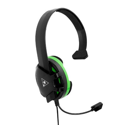 Turtle Beach Recon Chat Wired Gaming Headset for Xbox One/Series X|S - Black/Green
