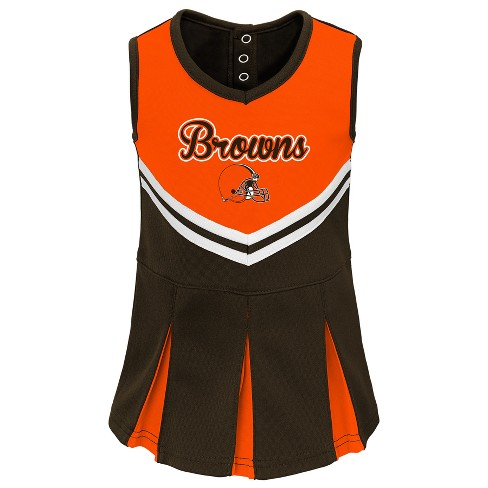 dfcd1a8f NFL Cleveland Browns Infant/ Toddler In the Spirit Cheer Set
