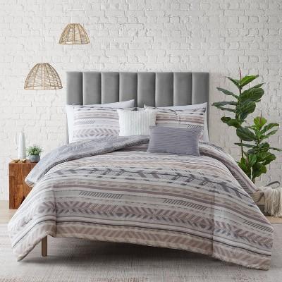 Sedona Comforter Set - Mudd