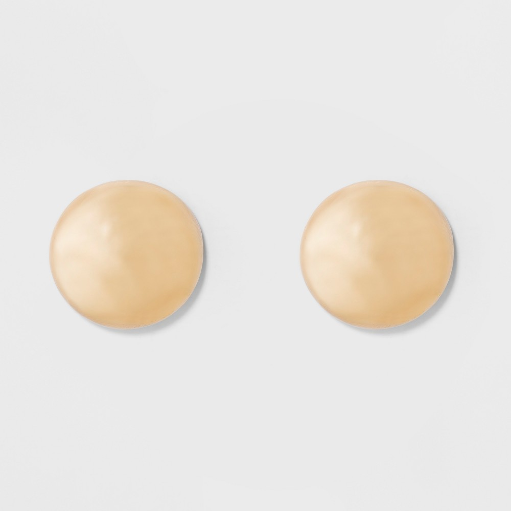 Large Stud Earrings - A New Day Gold