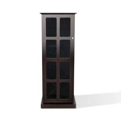 Windowpane Wine Cabinet Espresso - Atlantic
