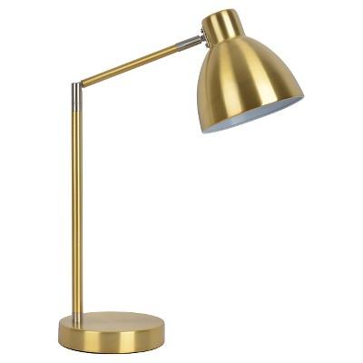 Desk Task Lamp Gold - Pillowfort™