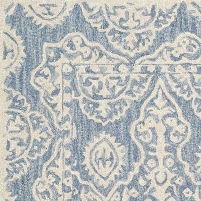 Blue/Ivory