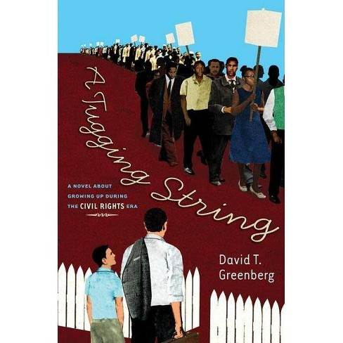 A Tugging String - by  David Greenberg (Hardcover) - image 1 of 1