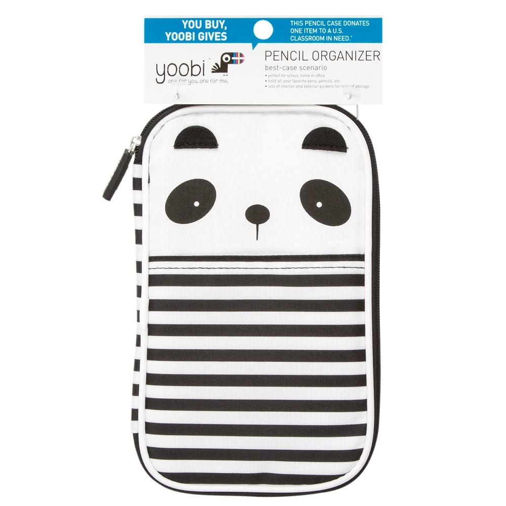 Yoobi Pencil Case Panda, Multi-Colored
