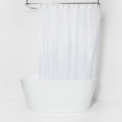 Fabric Shower Liner White - Made By Design™
