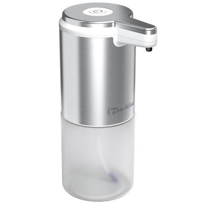 iTouchless Sensor Foam Soap Dispenser 28 Fl. Oz. Silver Stainless Steel