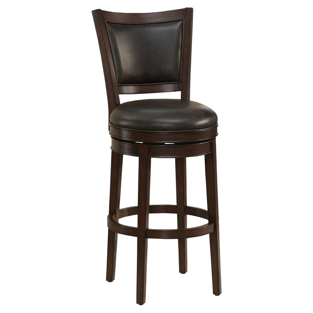 26 Shae Counter Stool Wood/Brown - American Heritage Billiards