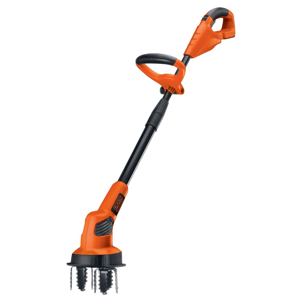 Black+decker 20V Max Lithium Garden Cultivator (Bare Tool) - Orange