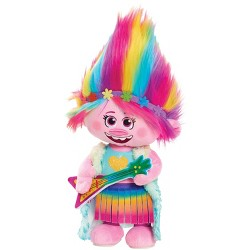 Trolls World Tour Poppy Finale Look Singing Plush Doll