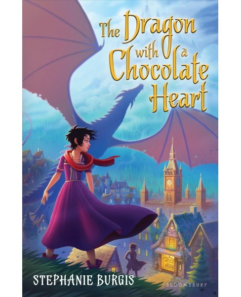Dragon With a Chocolate Heart -  Reprint by Stephanie Burgis (Paperback) - image 1 of 1