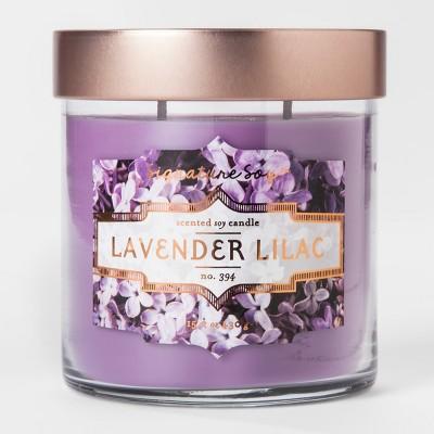 Large Jar Candle Lavender Lilac 15.2oz
