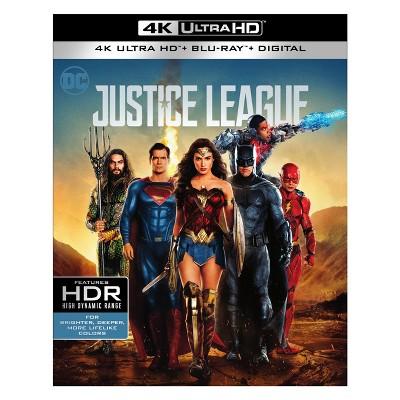 Justice League (4K/UHD + Blu-ray + Digital)