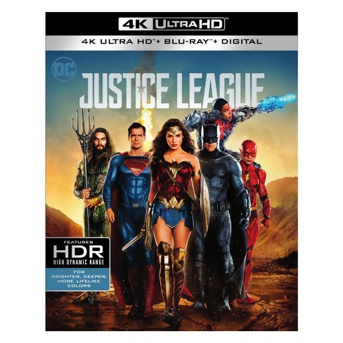 Justice League (4K/UHD + Blu-ray + Digital) - image 1 of 1