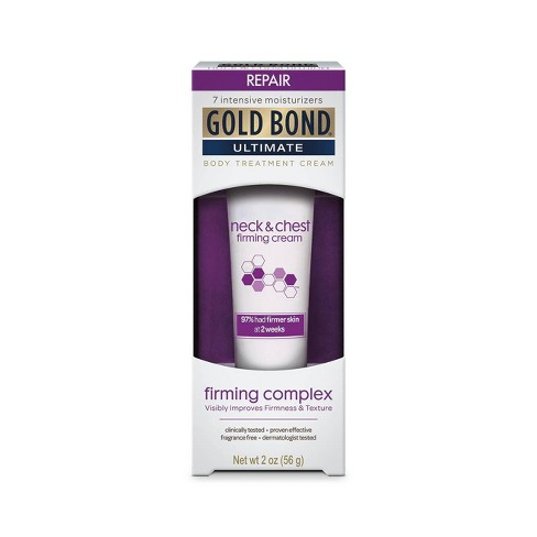 Unscented Gold Bond Ultimate Firming Neck and Chest Hand and Body Lotions - 2oz - image 1 of 4
