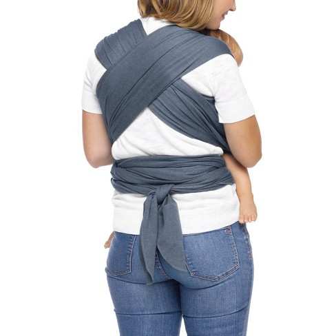 Moby Wrap Classic Mist Baby Carrier Blue Target
