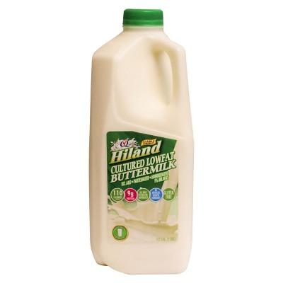 Hiland 1% Buttermilk - 0.5gal