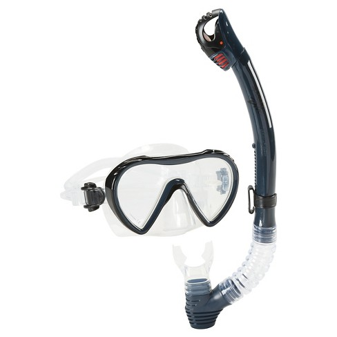 Speedo Adult Expedition Snorkel Set Combo - 2pc - image 1 of 1