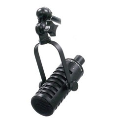 MXL BCD-1 Live Broadcast End Address Dynamic Microphone, 40 Hz-15 kHz Frequency Response, Cardioid Pattern, Black