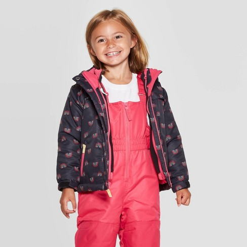 Toddler Girls' 3 in 1 Snow Jacket - Cat & Jack™ - image 1 of 4