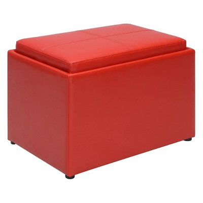 Designs4Comfort Accent Storage Ottoman - Breighton Home