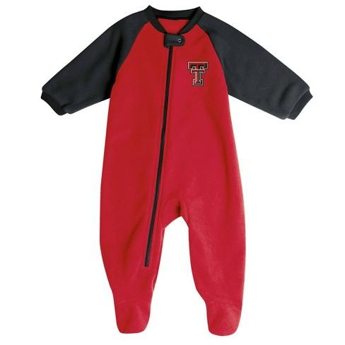 NCAA Texas Tech Red Raiders Infant Blanket Sleeper - image 1 of 2